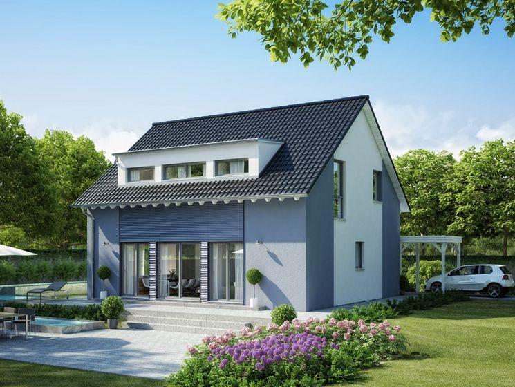 Unser CELEBRATION 150 V3.  #Haus #Fertighaus #Hausbau #Design #Architektur #Einfamilienhaus #House #BienZenker