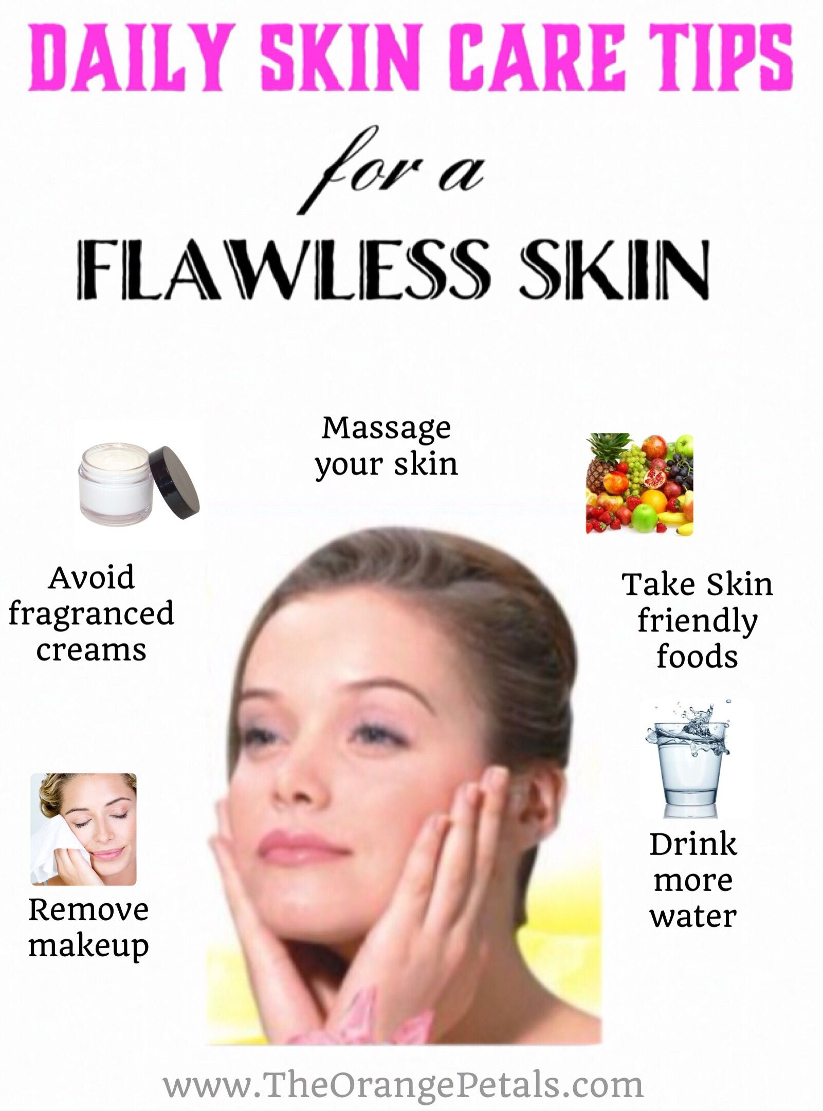 8 Daily skin care tips for a flawless skin and face