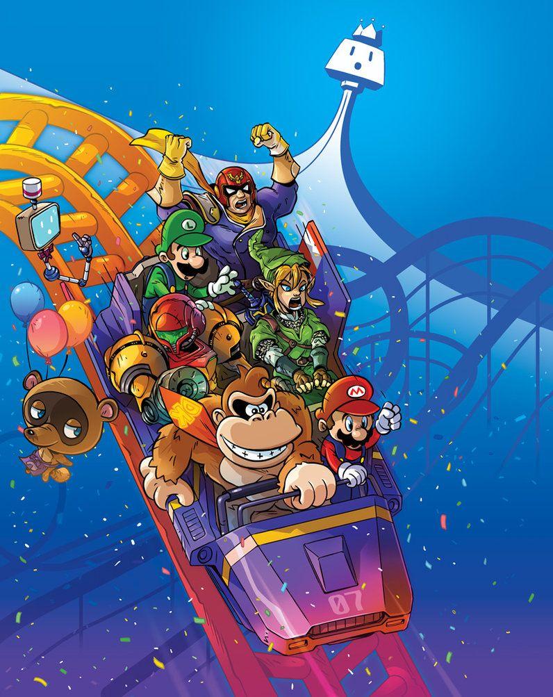 Nintendo Land By Hyper Wil Wiiu Super Smash Bros