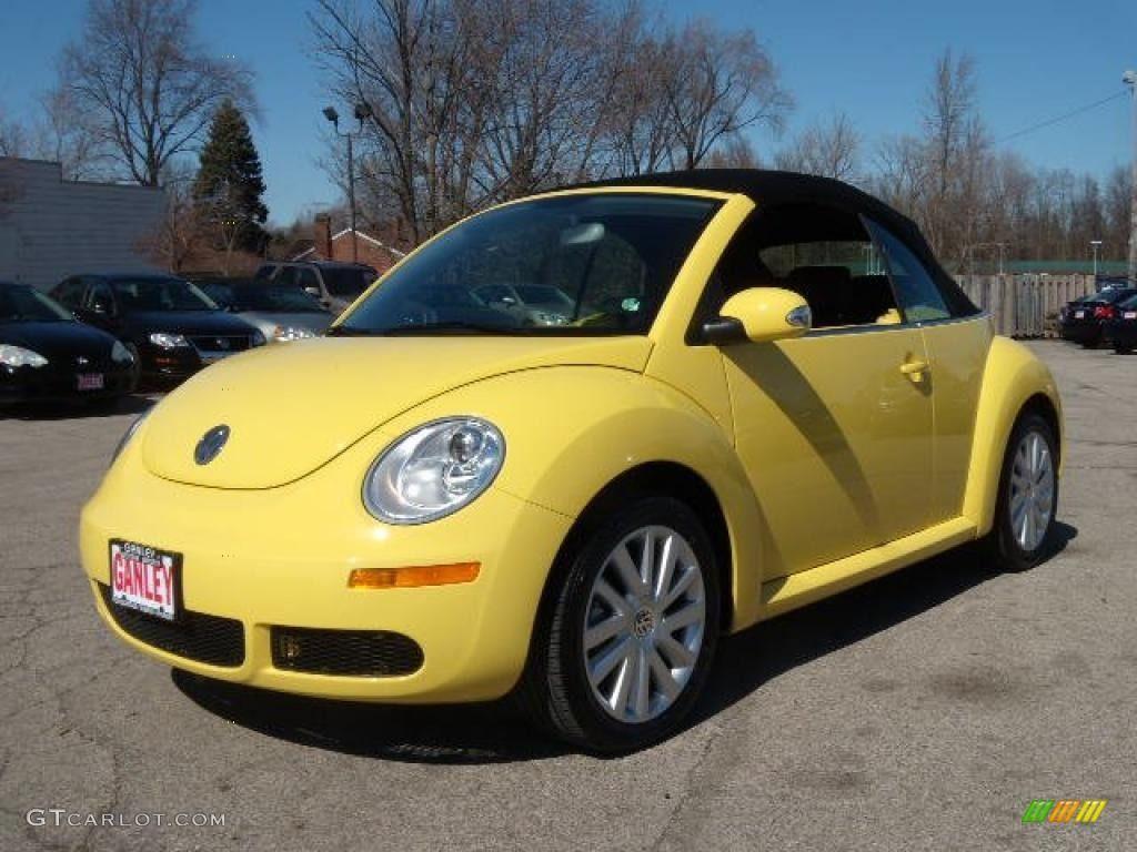 yellow volkswagen beetle convertible - Google Search   Cute ...