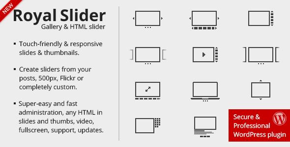 RoyalSlider v3 3 0 - Touch Content Slider for WordPress Free