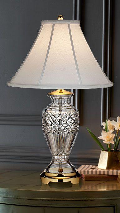 Waterford Crystal Kilmore 27 1 2 Table Lamp Crystal Lamp Crystal Table Lamps Lamp
