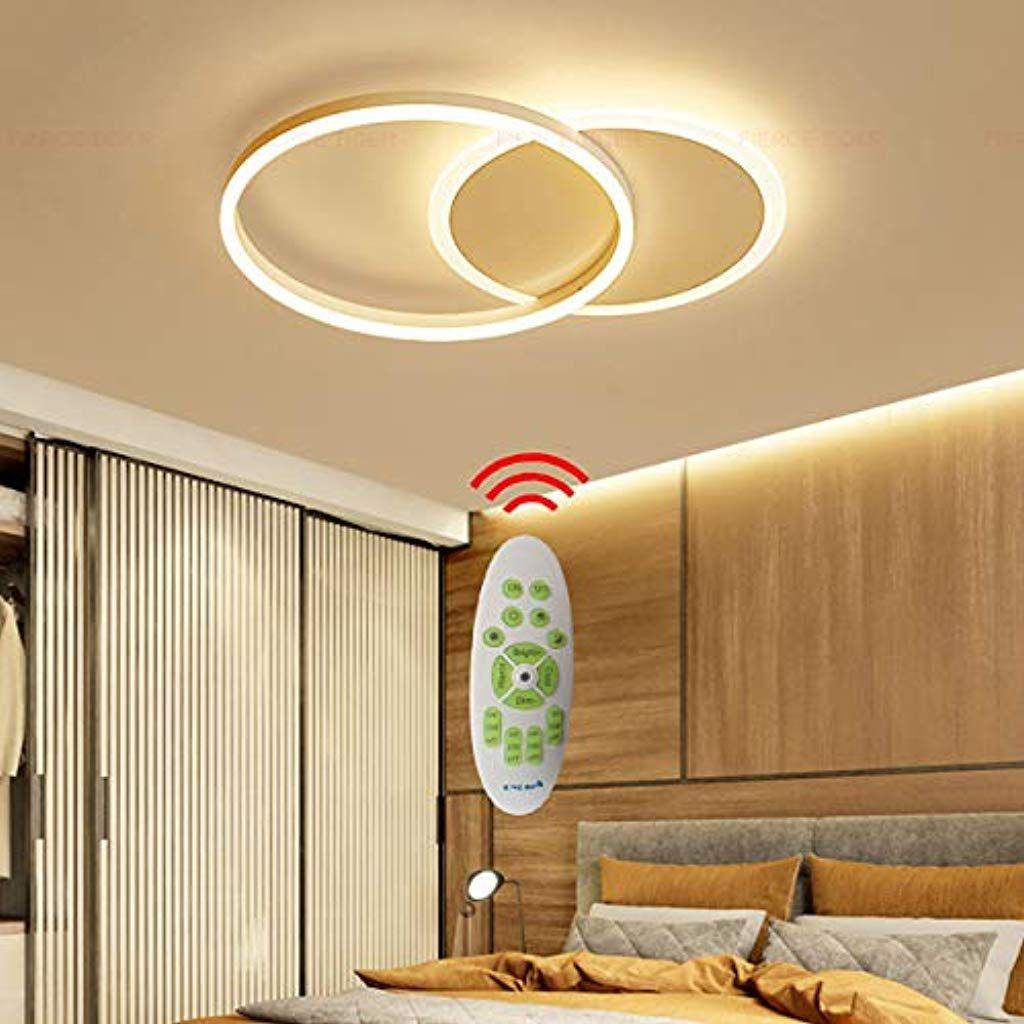 Decken Lampe Led Dimmbar Mit Fernbedienung Gross Wohnzimmerlampe