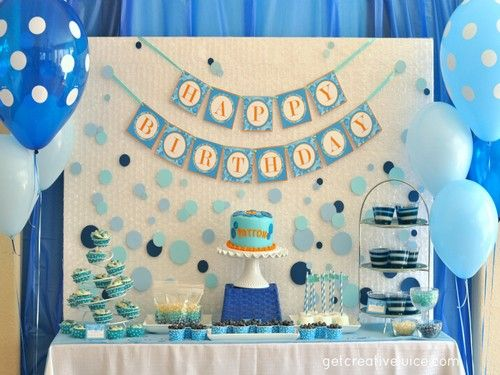 birthday party decoration ideas for kids