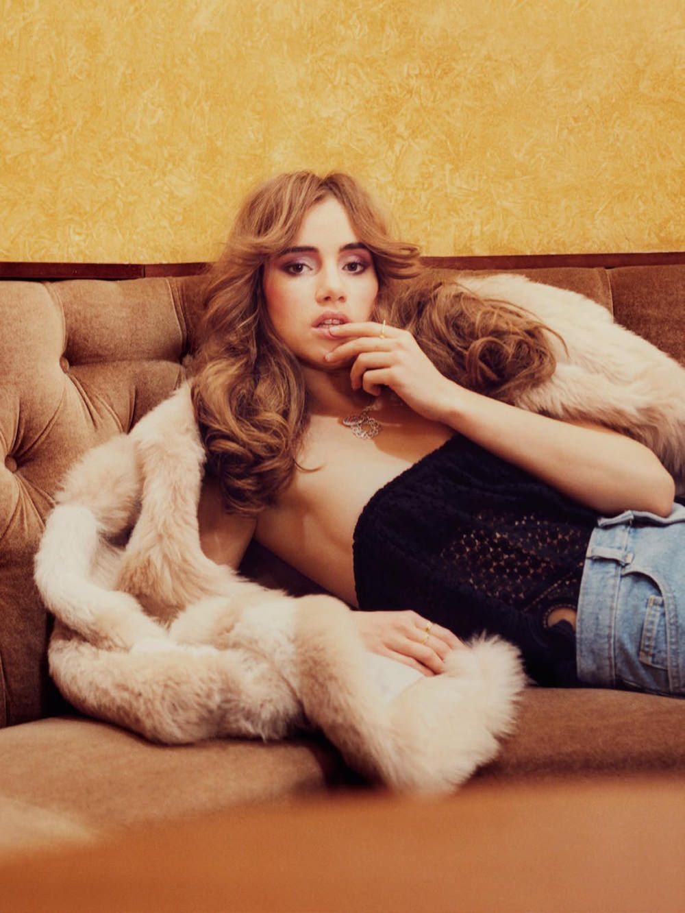 Suki Waterhouse by Tom Craig for Vogue Turkey February 2015
