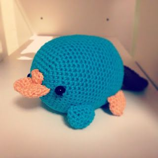 Perry the platypus (ornitorinco) Pattern