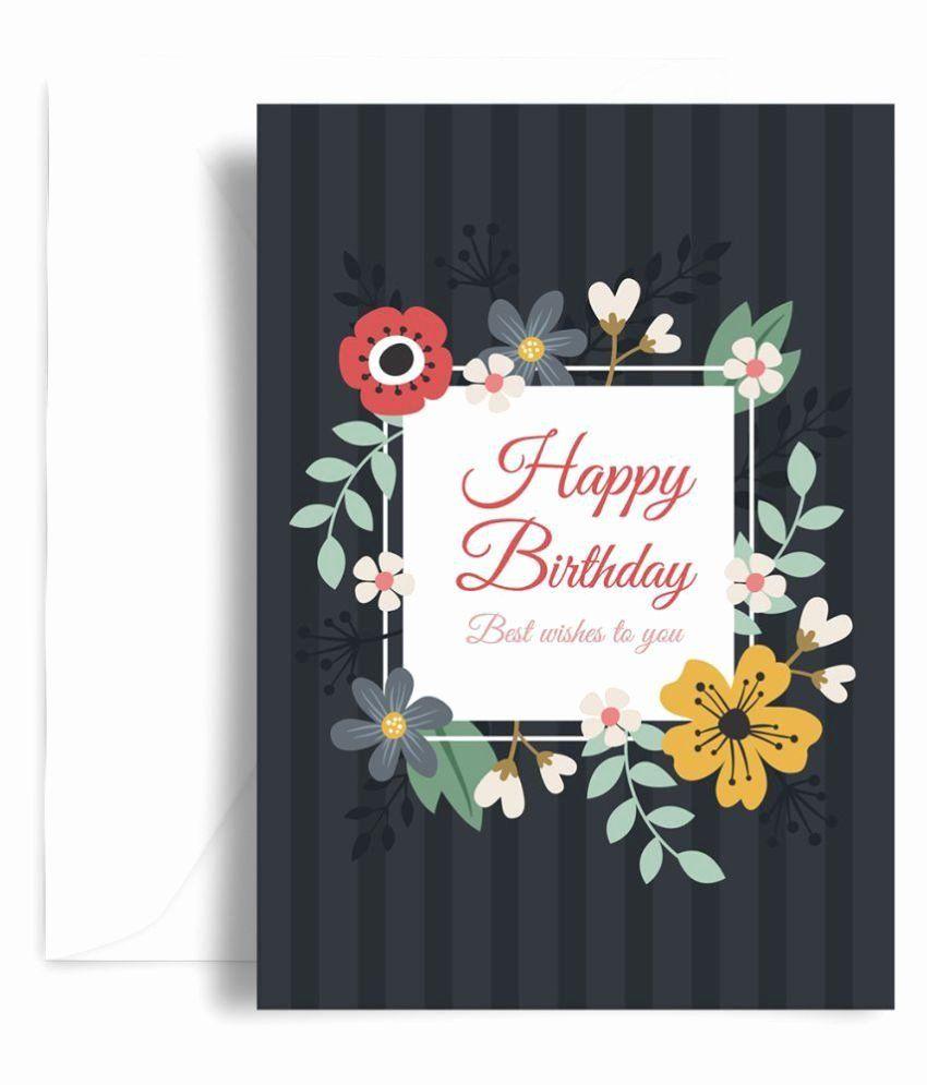 Friends Greetings Card in 2020 Happy birthday greeting