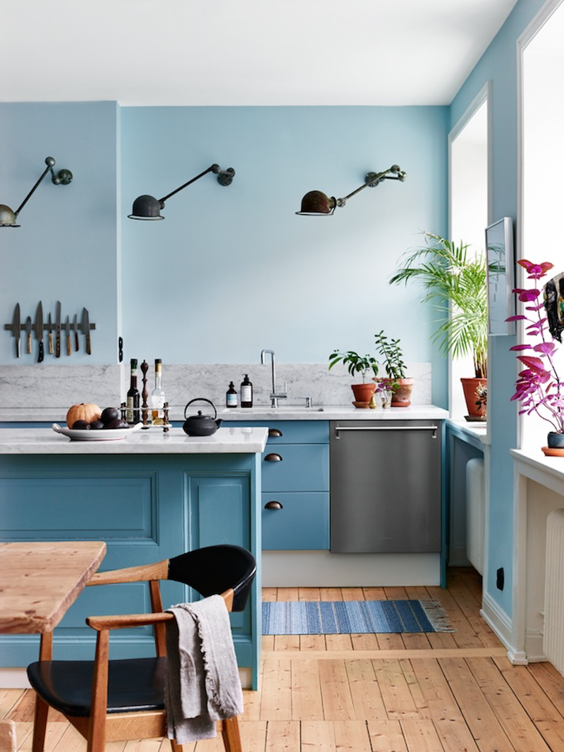 Summer Blues: 11 Super-Cool Rooms to Soothe Your Senses | Room ...