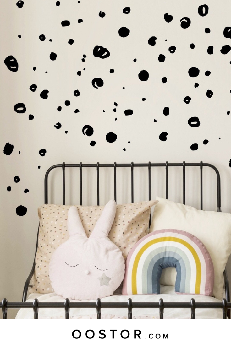 Dot Wall Stickers | 2019 JUST FOR KIDS | Wall stickers ...