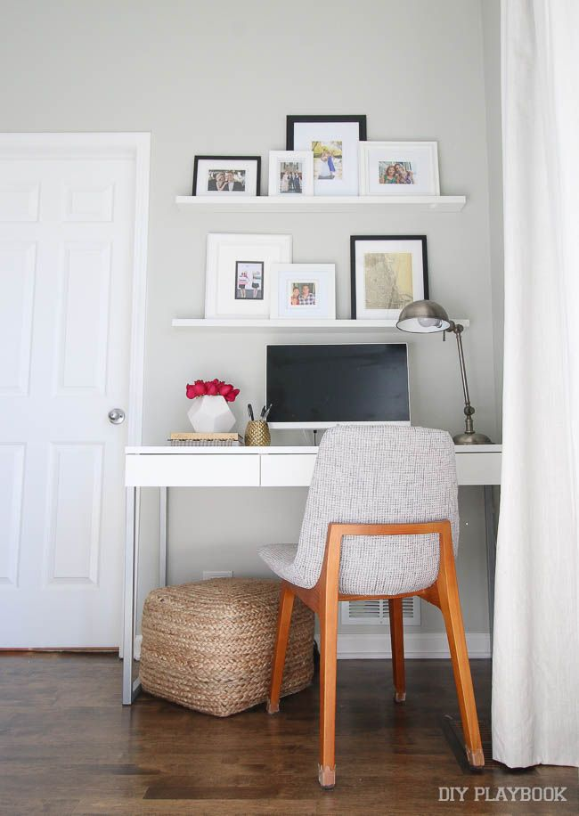 Bedroom work station inspiration design diy playbook