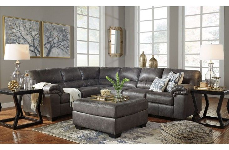 Best Bladen Slate Laf Sectional Sectional Sofa Furniture 400 x 300
