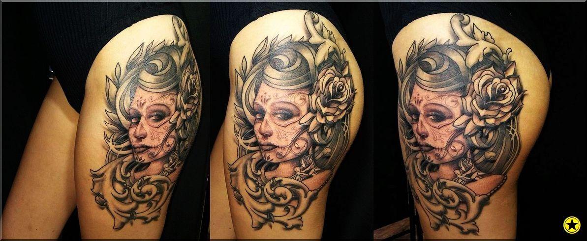 Santa Muerte Tatuaż Tatuaże Tatuaże