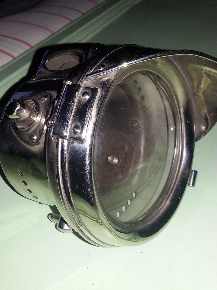 Vintage Joseph Lucas Carbide Motorcycle Light Headlamp No 331 Vgc