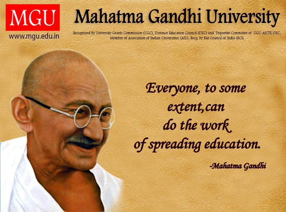 everyone to some extent can do the work of spreading education