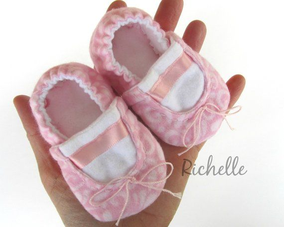 the latest preview of website for discount Pink Baby Ballet Slippers, Infant Toddler Ballerina Shoes ...