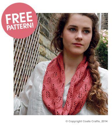 Rowan Lacy Linen Snood Free Pattern Deramores Free Knitting