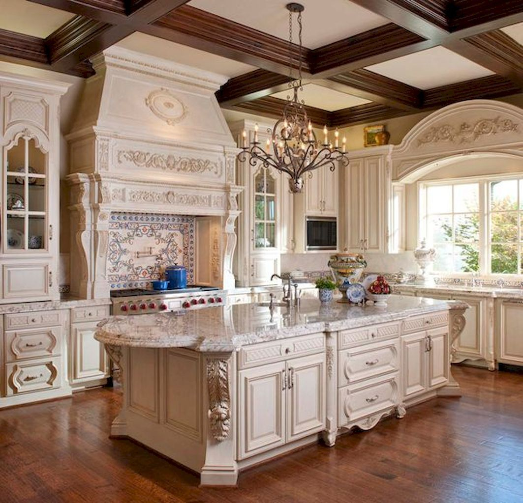 70 Beautiful French Country Kitchen Design and Decor Ideas #countrykitchens