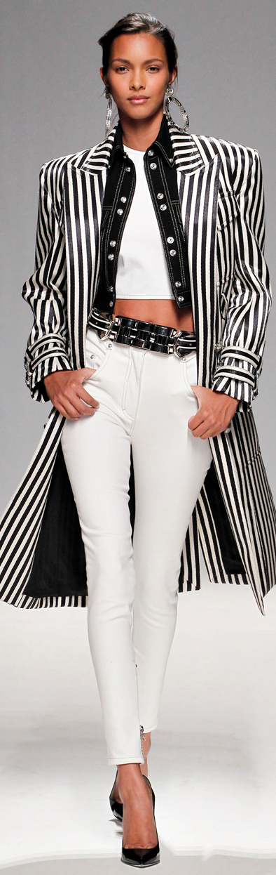 Usually I find Balmain too overly designed/busy for my taste, but this I love -- Balmain Spring 2013