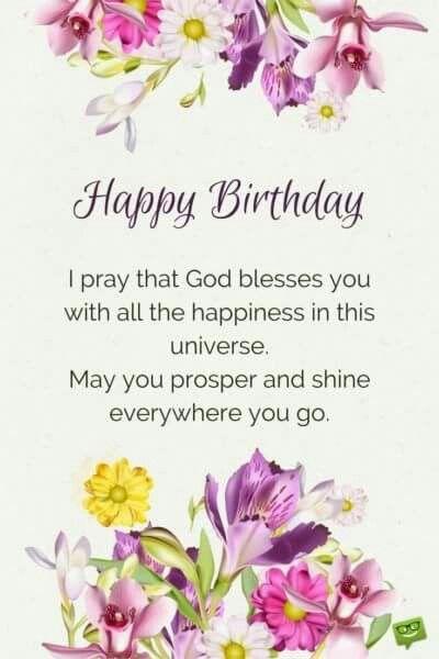 Bday Card Birthday Blessings Birthday Prayer Birthday Wishes Quotes