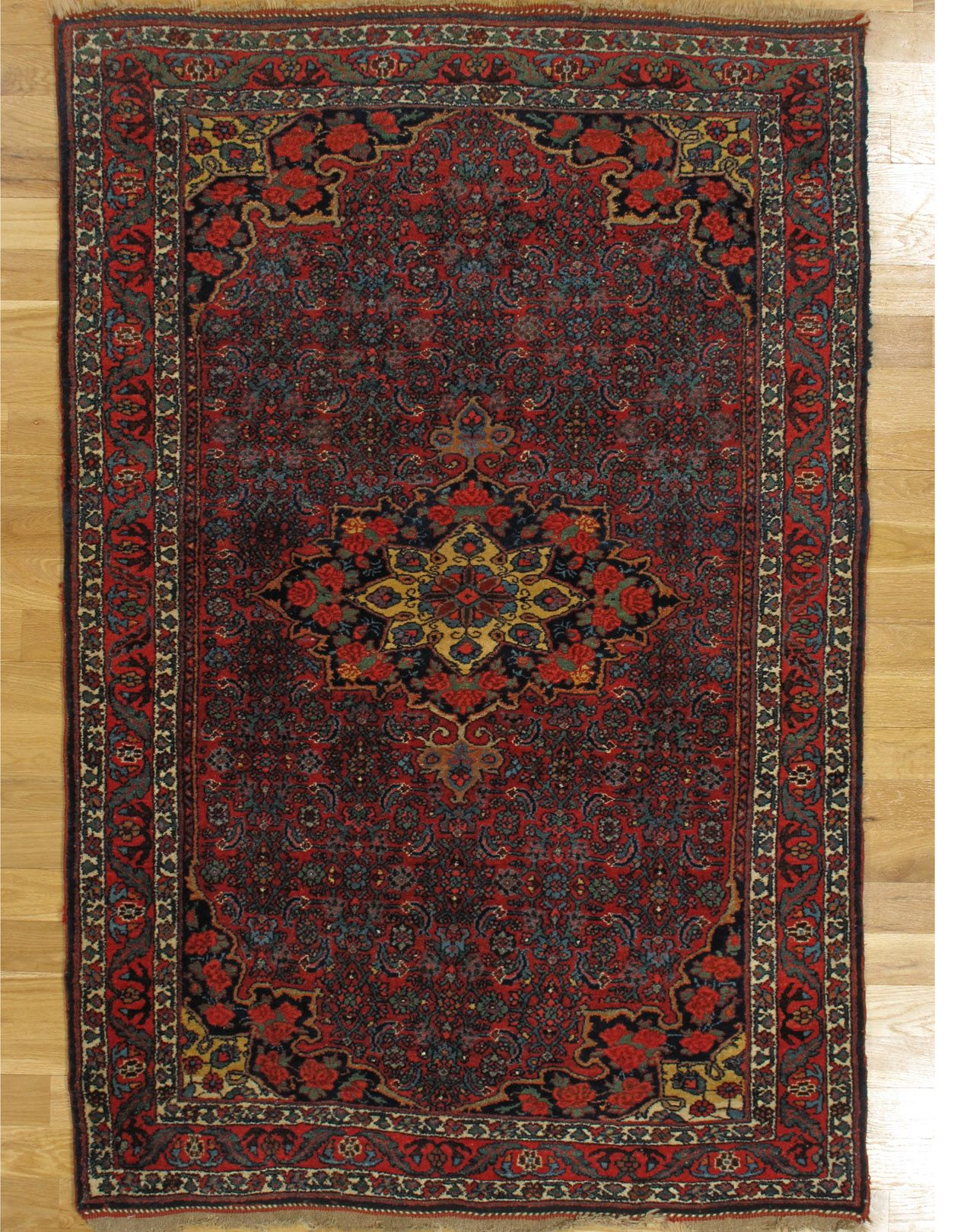 Bidjar Rug From North West Iran Age Circa 1890 Size 6