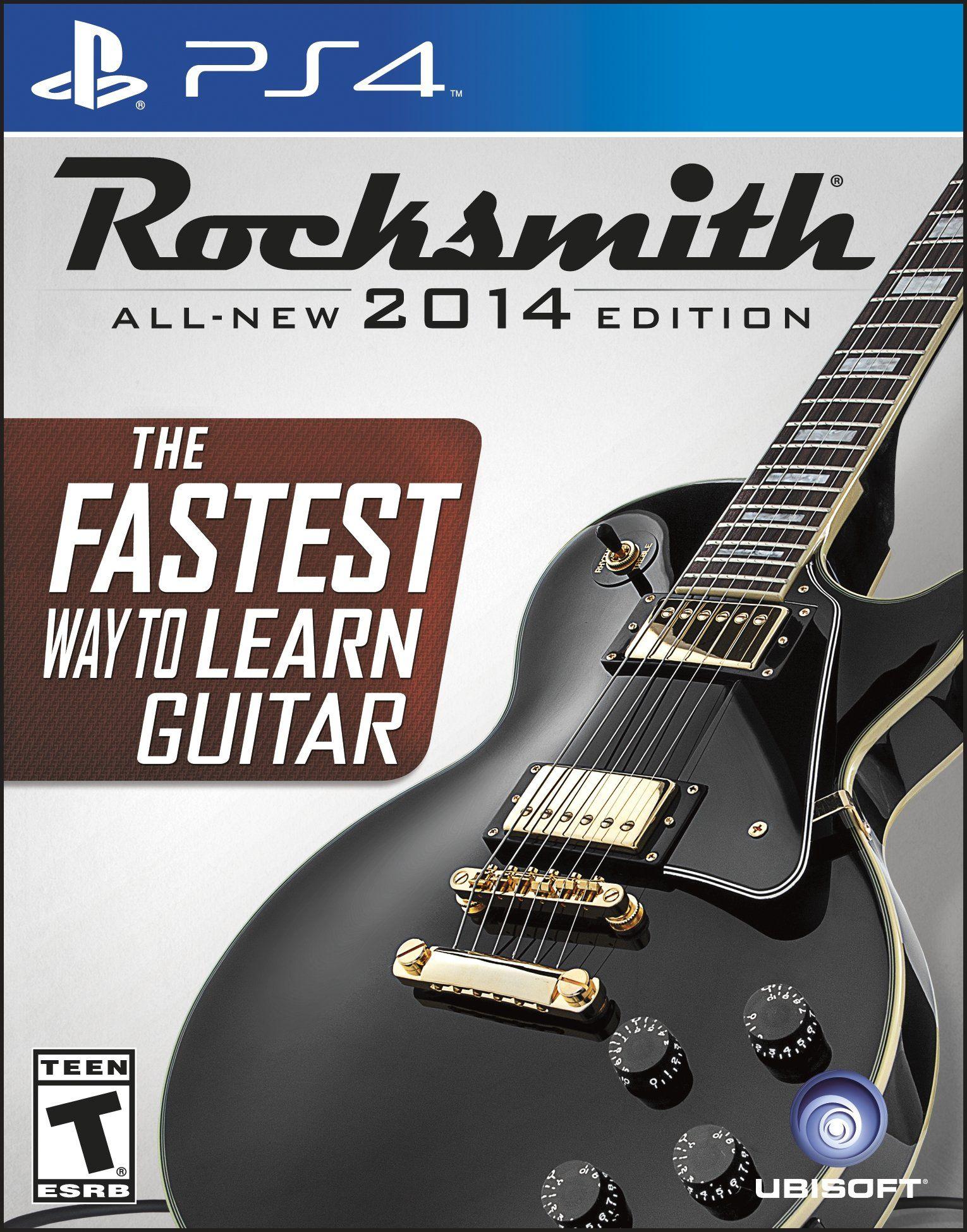 PS4 Rocksmith 2014 playstation 4 Video Games