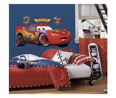 Grand sticker FLASH MCQUEEN - CARS | Stickers Disney | Pinterest ...