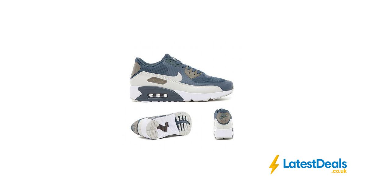 105b1f5e590da Nike Air Max 90 Ultra 2.0 Essential Trainer | Blue Fox Free Delivery,  £59.99 at Footasylum