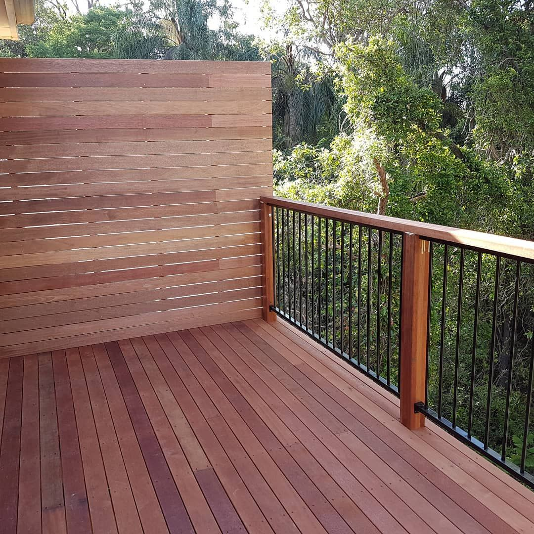 Best Merbau Decking Complete With Screen And Merbau Hand 400 x 300