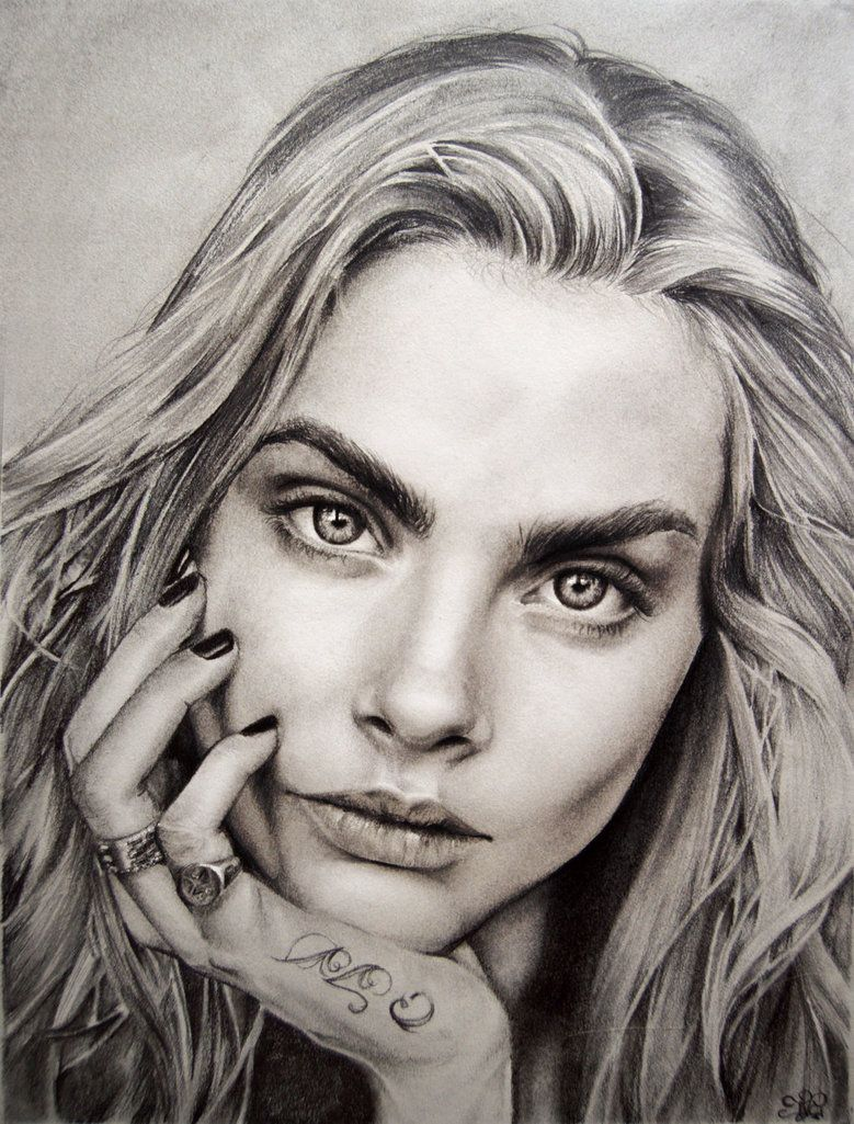Cara Delevingne by JulietEssence  First pinned to Celebrity Art