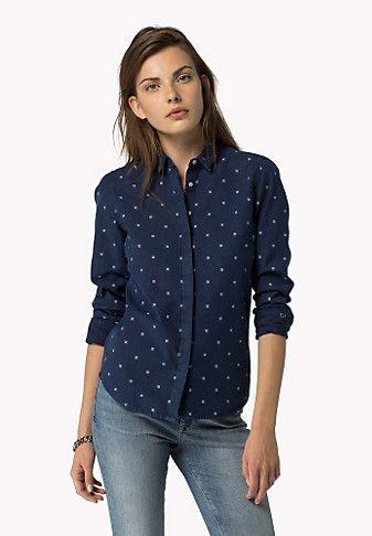 Camisas De Mujer 5 Blusas En 2019 Camisas Mujer Tommy