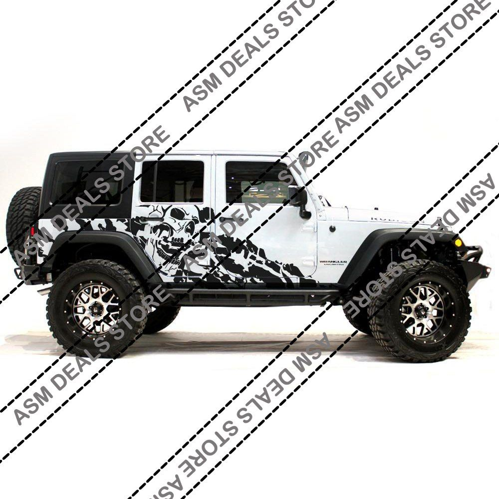 Photo of US $59.64 5% OFF|2pcs JDM Stickers Sport Engine Hood Fender Side Letter character Car Sticker and Decal Vinyl for Jeep Wrangler Unlimited TJ JK|Car Stickers|   – AliExpress