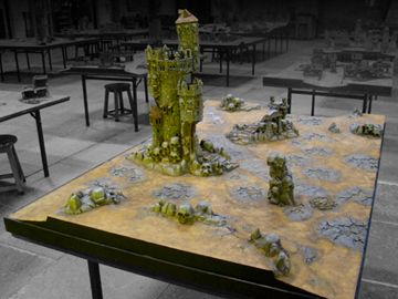 The Events Hall and Gaming Tables | Warhammer World | Games