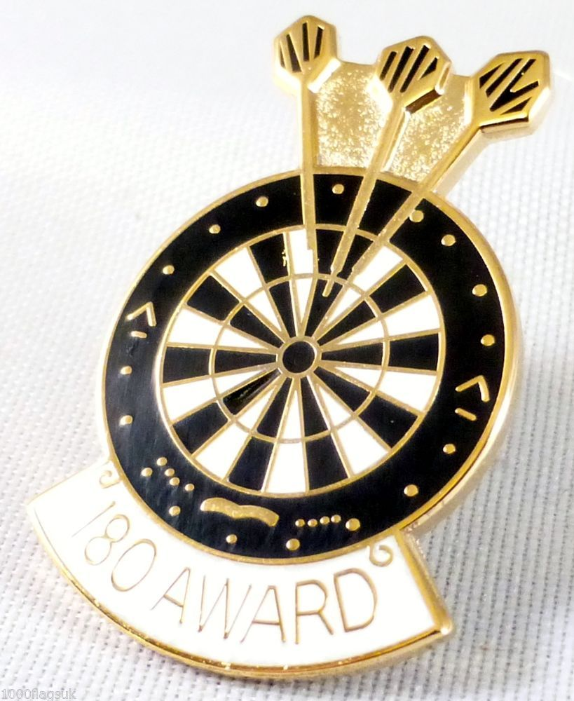darts 180 award pin badge pin badge p055 darts pinterest darts