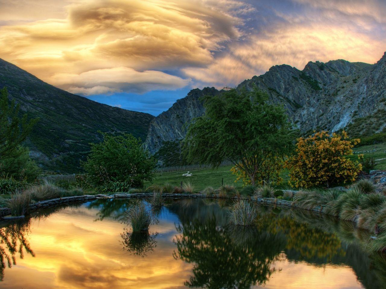 okrúhle obrázky, jazero tapety, sky vektor, pobrežie zázemím, hory materiál