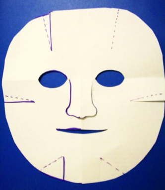 Human mask template mascaras Pinterest Paper face mask - paper face mask template