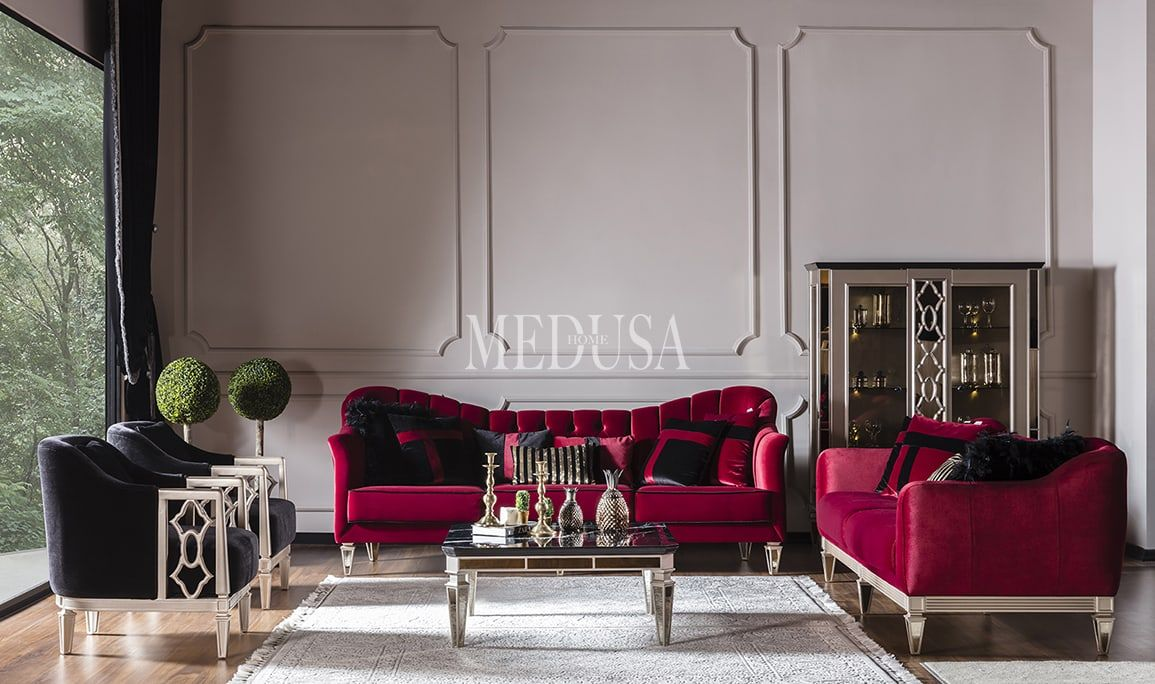 Class Art Deco Koltuk Takimi Medusa Home 2020 Art Deco Mobilya Fikirleri Koltuklar
