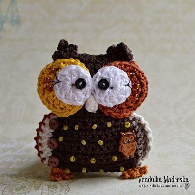 Some owls - whooooo :-) (Magic with hook and needles) | Eule ...
