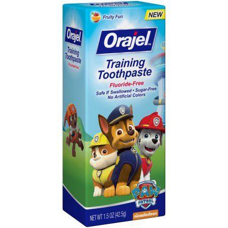 Orajel™ Fruity Fun Paw Patrol™ Training Toothpaste 1.5 oz. Box, Multicolor