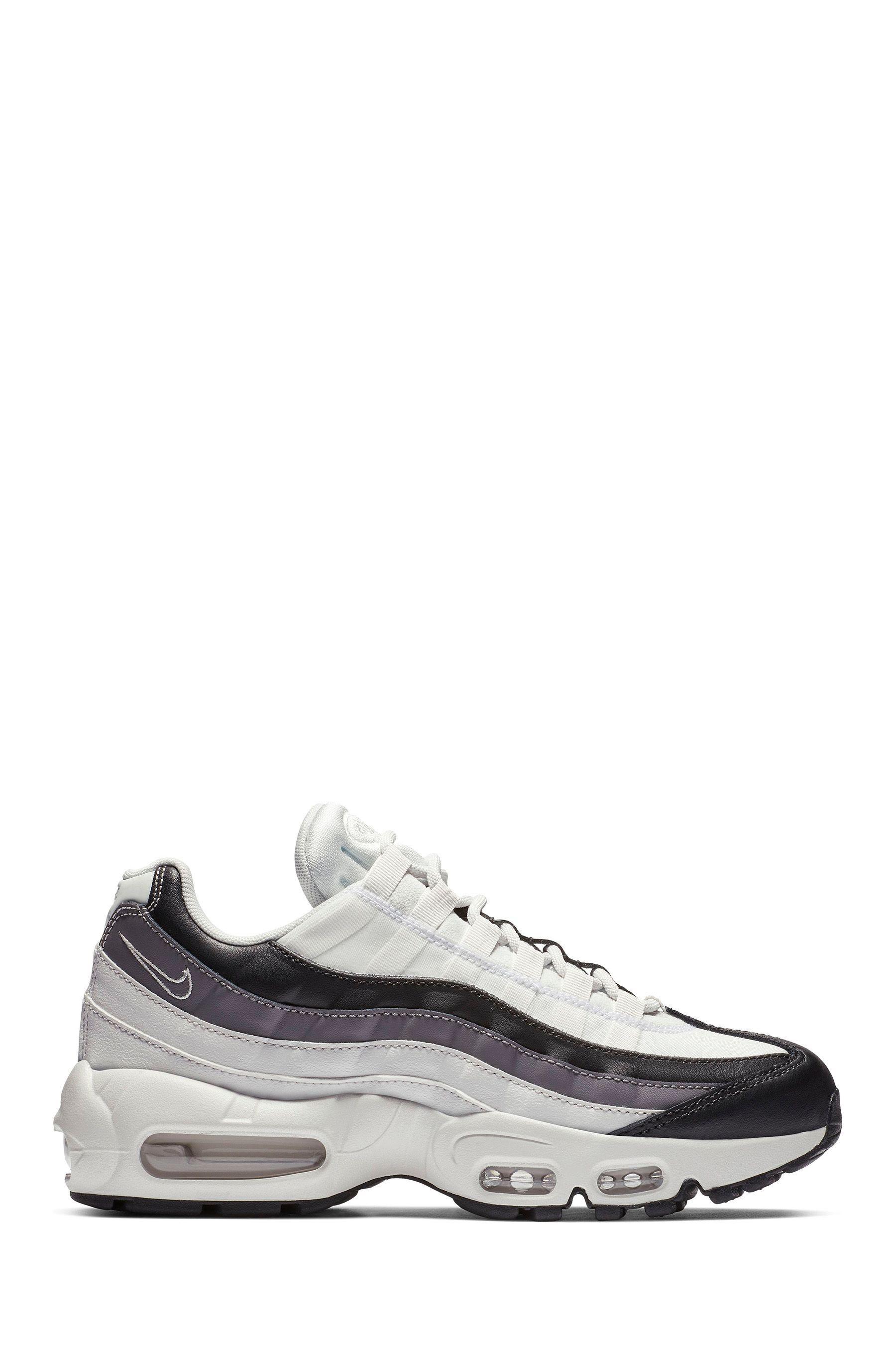 Womens Nike Air Max 95 Black | Nike air max 95, Nike air