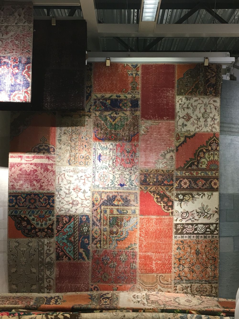 Beautiful Turkish Patchwork Rug From Ikea Silkeborg