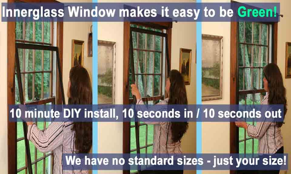 Easy To Install Storm Window Porch Interior