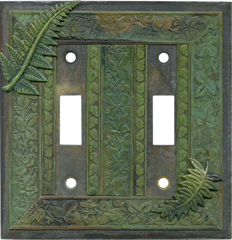 Fern Plates On Wall Switch Plate Covers Light Switch Plates