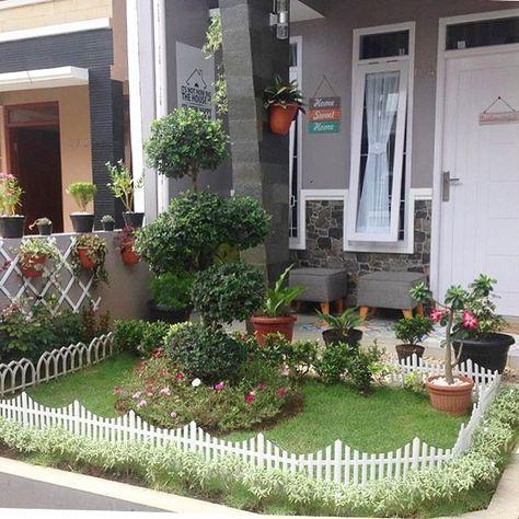 gambar teras rumah minimalis beserta taman terbaru