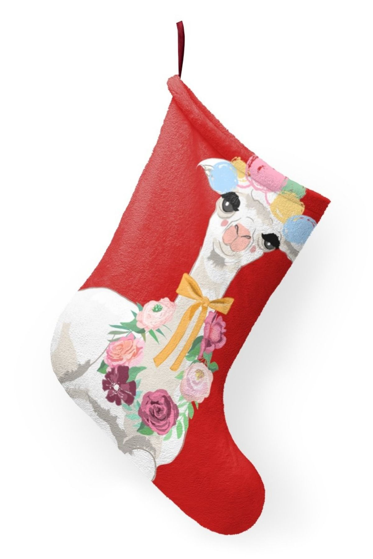 Llama Christmas Stocking.The Perfect Christmas Stocking For The Llama Lover Oh How