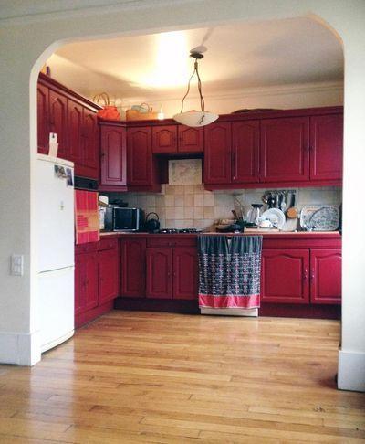 Repeindre une cuisine  300 euros pour un relooking réussi Paint - Repeindre Un Meuble En Chene