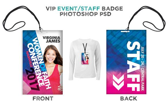 womens event vip badge creativework247 cards badge card