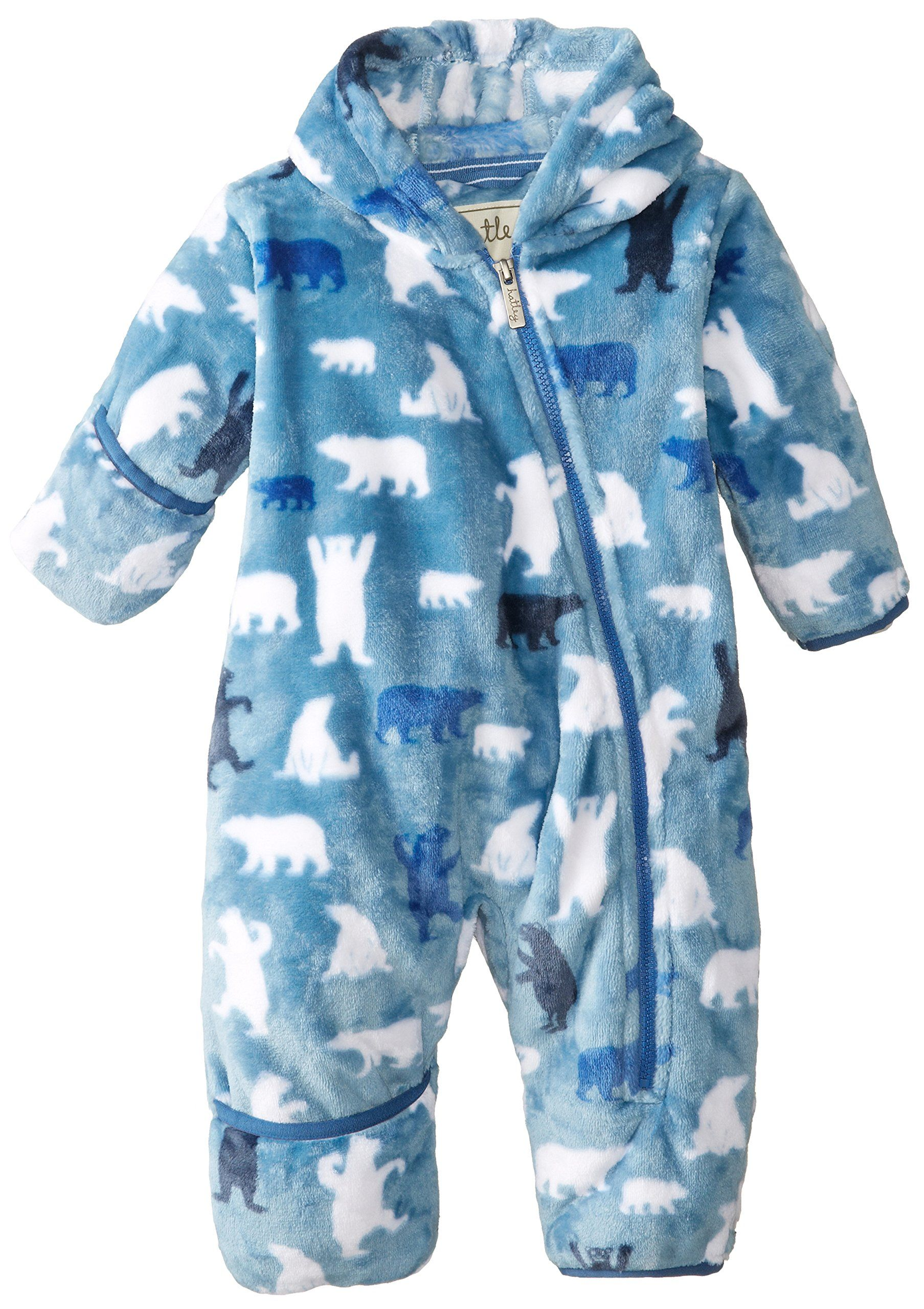 Hatley Baby Babys Infant Fuzzy Fleece Bundler Polar Bear Boy