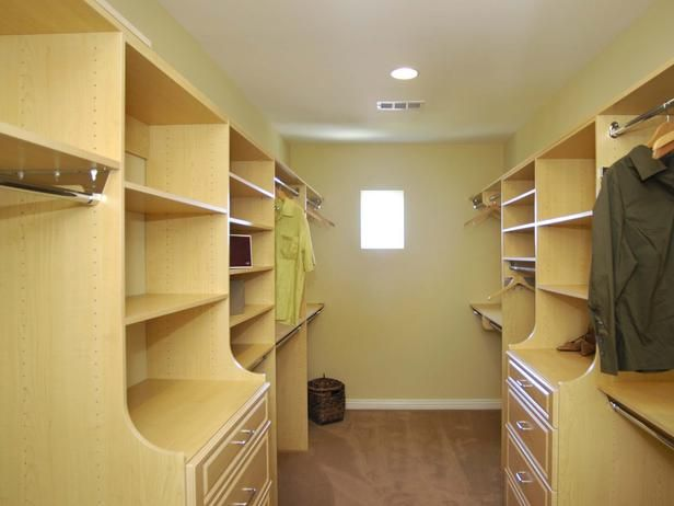 Galley Closet A Generous Amount Of Space Is Devoted To The Narrow Walk In  Closet
