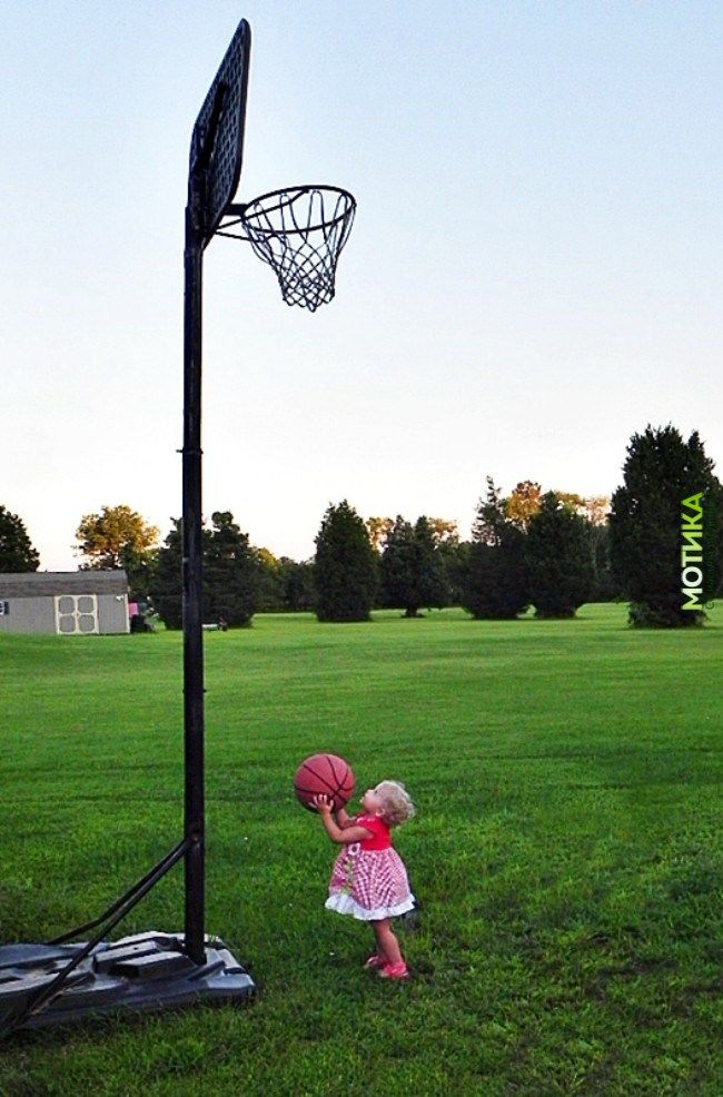 A Baby Girl Wants To Play Basketball In The Grass Whaa Basketball Photography Basketball Pictures Toddler Basketball