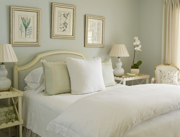 Sage Green Master Bedroom Soothing Colors White And Cream
